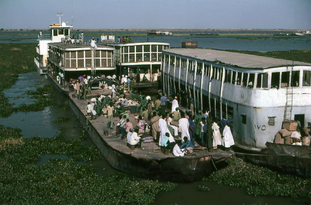 Nile river ferry